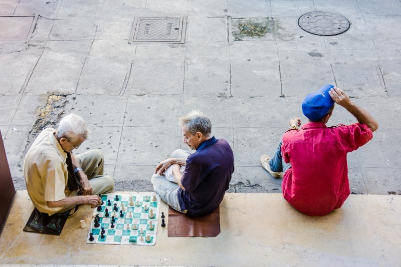 chess players @ Cuba Photo Travel 2015