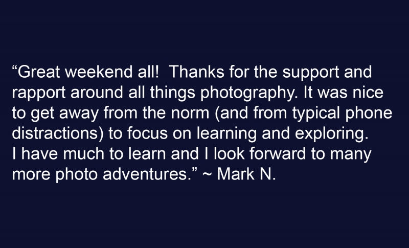 Mark N Testimonial 1