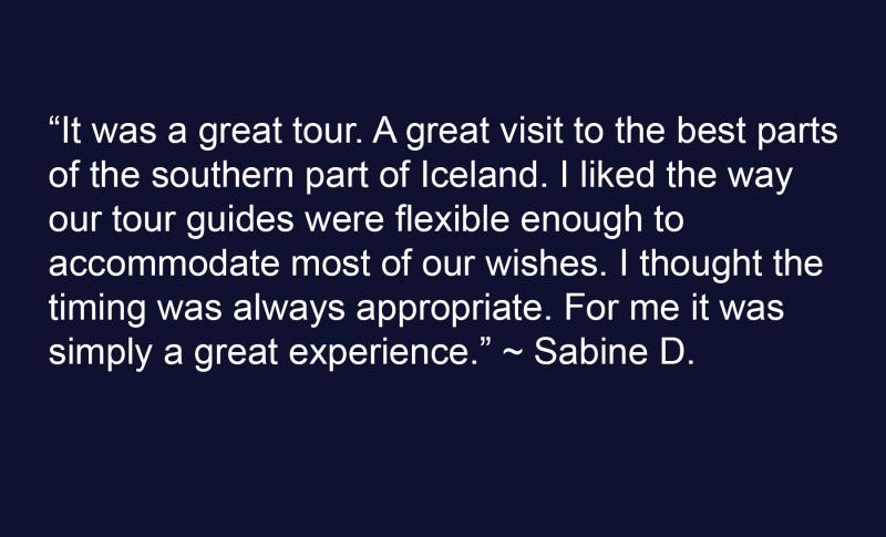 Sabine D Testimonial