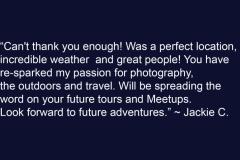 Jackie C Testimonial