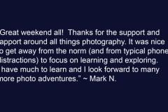 Mark N Testimonial